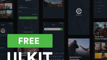 Game UI Kit Adobe XD - Xd File