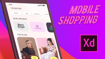 Pollen – eCommerce XD App Template Free Download - Xd File