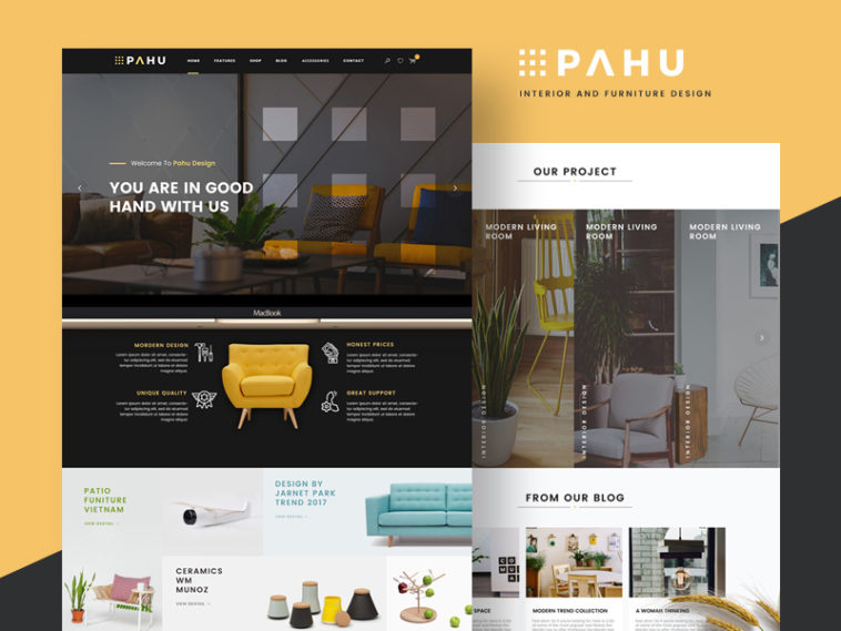 Free Psd Pahu Website Template Xd File,Back Neck Simple Embroidery Designs For Blouse